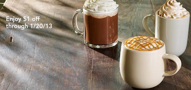 Printable $1 Starbucks Espresso Drinks Coupon
